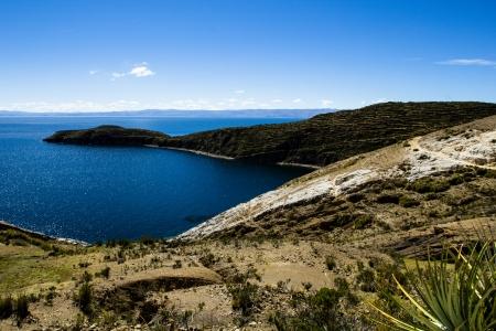 Isla del Sol on the Titicaca lake, Bolivia. photo