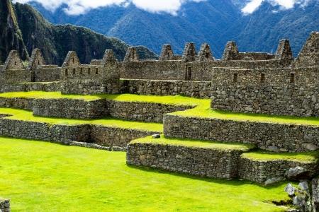 Machu Picchu, die alte Inka-Stadt in den Anden, Peru Standard-Bild - 20365774