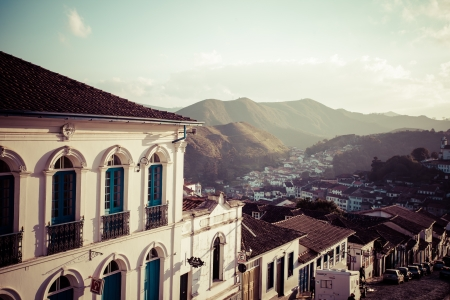 senhora: Ouro Preto, Brazil, South America. Stock Photo