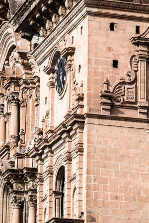 Cathedral in the city of Cuzco, Peru photo