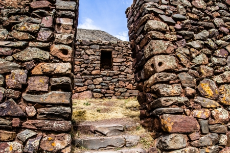 pisac: Peru, Pisac (Pisaq) - Inca ruins in the sacred valley in the Peruvian Andes