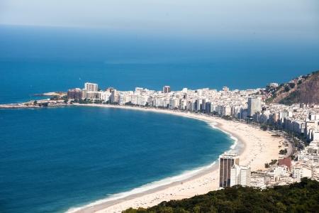 corcovado: Playa de Copacabana, R�o de Janeiro, Brasil