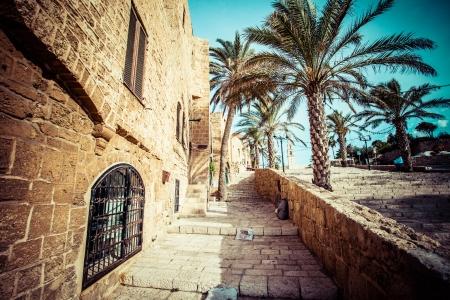 The old streets of Jaffa, Tel Aviv, Israel 版權商用圖片 - 24296527