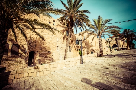jaffo: The old streets of Jaffa, Tel Aviv, Israel