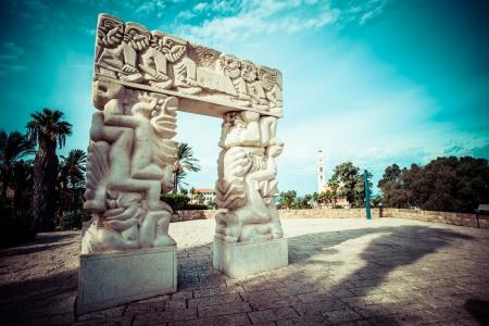 yaffo: Arch in Jaffa, Israel