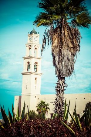 yaffo: Iglesia de San Pedro es una iglesia de los Franciscanos en Jaffa, parte de Tel Aviv, en Israel.