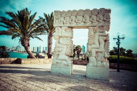 jaffa: Arch in Jaffa, Israel