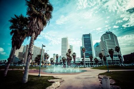 tel aviv: View of Tel Aviv, Israel.