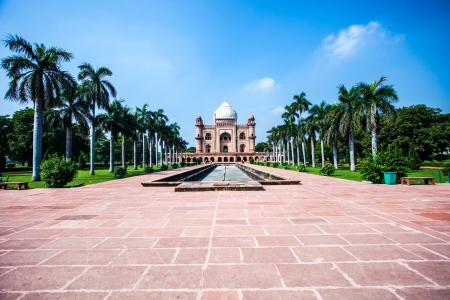 mausoleum: Safdarjungs Tomb is a garden tomb in a marble mausoleum in Delhi, India