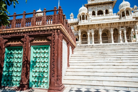 White Temple - Jaswant Thada in Jodhpur, Rajasthan  photo