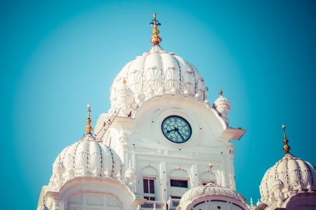 Sikh gurdwara Golden Temple (Harmandir Sahib). Amritsar, Punjab, India Stock Photo - 25186157