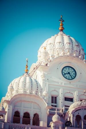 Sikh gurdwara Golden Temple (Harmandir Sahib). Amritsar, Punjab, India  Stock Photo - 25186158