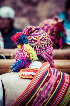 trinkets: Indigenous Outfit in  Peru