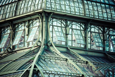 schoenbrunn: The Palmenhaus at palace Schoenbrunn, Vienna, Austria.  Editorial