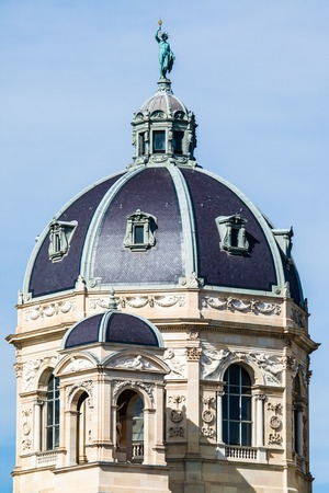 Kunsthistorisches museum at the Museum District, Vienna, Austria