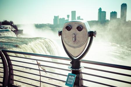 niagara falls: Niagara Falls in winter.
