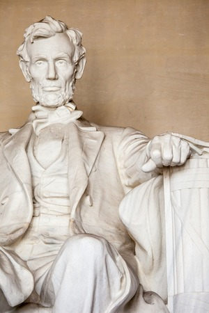abe: Abraham Lincoln monument in Washington, DC