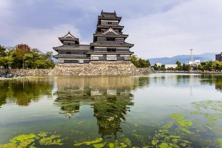 honshu: Beautiful medieval castle Matsumoto in the eastern Honshu, Japan