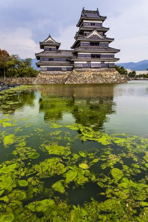 honshu: Beautiful medieval castle Matsumoto in the eastern Honshu, Japan