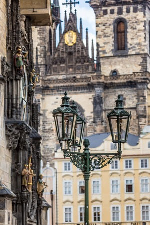 Prague, Old Town Hall (15th Century) photo