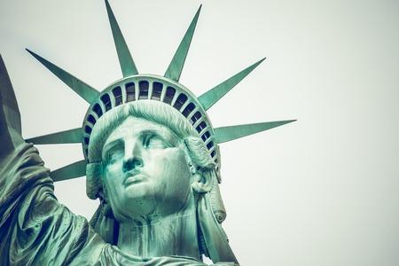 democracia: La Estatua de la Libertad en Nueva York