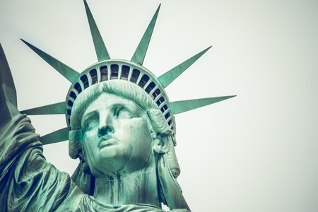 immigration: The Statue of Liberty at New York City