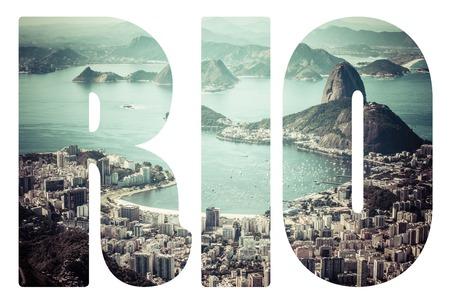 Word Rio de Janeiro, Brazil. photo