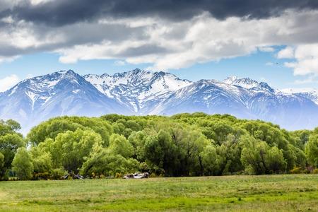 fiordland: Ohau Valley View - New Zealand