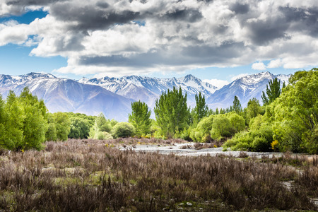 valley view: Ohau Valley View - New Zealand