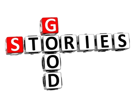 good judgment: 3D Crossword Good Stories on white background