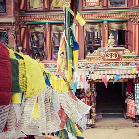 buddhist stupa: Boudhanath is a buddhist stupa in Kathmandu, Nepal. Editorial