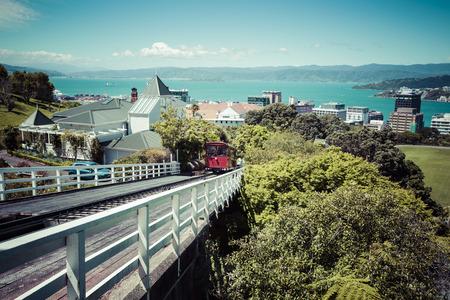 wellington: View of the Wellington, New Zealand