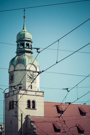 poznan: Poznan church, Poland. Stock Photo