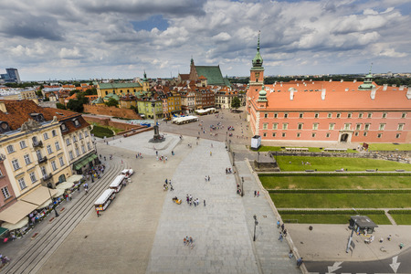 inscribed: Warsaws historic Old Town is the only restored city inscribed onto UNESCOs World Heritage list.Poland.