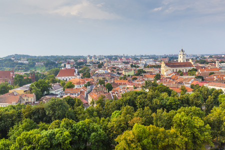 lithuania: Vilnius old town cityscape, Lithuania