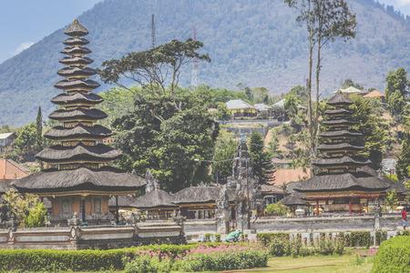 ulun: Ulun Danu temple Beratan Lake in Bali Indonesia