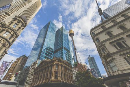 シドニー市内中心部