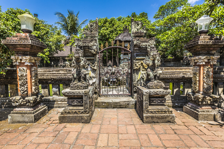 indonesia: Temple in Bali, Indonesia on a beautiful sunny day