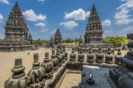YOGYAKARTA: Prambanan temple near Yogyakarta on Java island, Indonesia