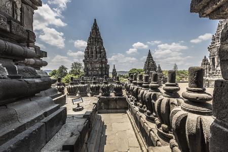 jogjakarta: Prambanan temple near Yogyakarta on Java island, Indonesia