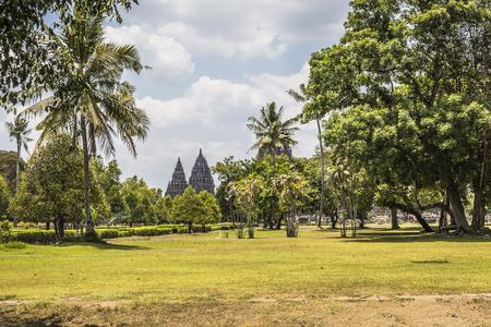 prambanan: Prambanan temple near Yogyakarta on Java island, Indonesia