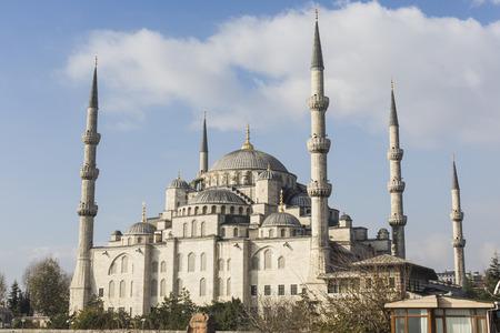 camii: The Blue Mosque, (Sultanahmet Camii), Istanbul, Turkey. Stock Photo