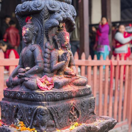revolve: Bodhnath stupa in Kathmandu, Nepal.