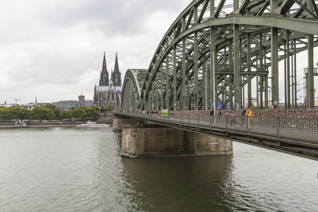 Cathedral and Hohenzollern Bridge - Cologne, Germany