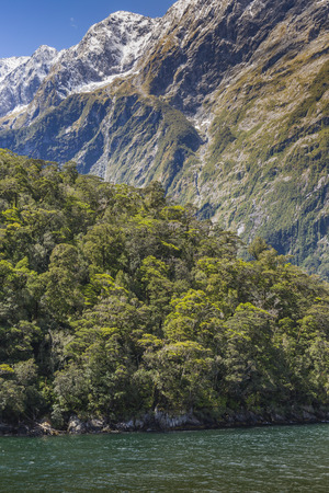 milford: Milford Sound. Fiordland national park, New Zealand