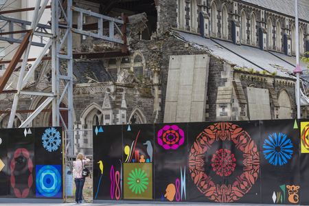 rages: CHRISTCHURCH, NEW ZEALAND, NOVEMBER 08 - The iconic Anglican Cathedral remains a ruin in Christchurch, New Zealand, 08-11-2014. Debate still rages over the fate of the condemned building. Editorial