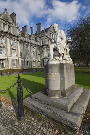 trinity: DUBLIN -JANUARY 12: Trinity College on January 12, 2015, Dublin. Editorial