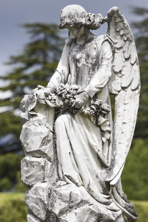 Selected cemetery statues