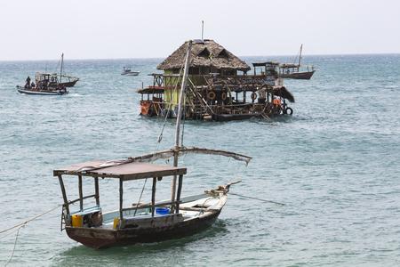 protectorate: Boats in the Indian Ocean in the Zanzibar archipelago. Formerly a protectorate of the Sultanate of Oman, Zanzibar is now a semi-autonomous region of Tanzania.
