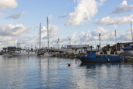 spezia: LA SPEZIA, ITALY - MARCH 09, 2016: Yachts in the port of La Spezia, Italy